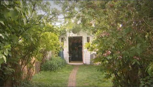 Oliver Postgate's shed